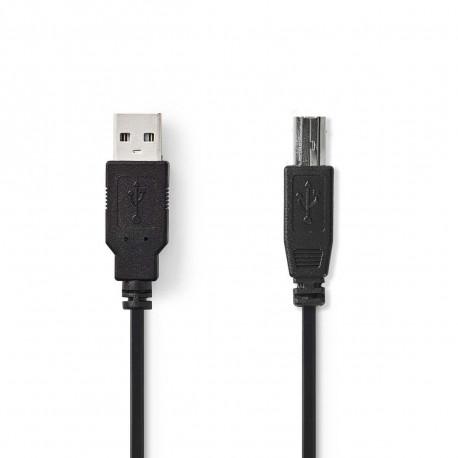 USB A/B printer kabel 2 m